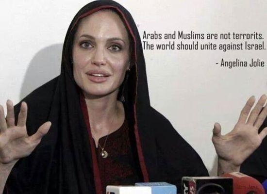 Angelina Jolie Gazze