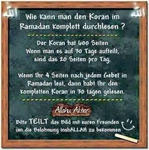 Koran und Ramadan